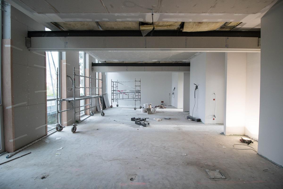 Vue de la salle de formation du futur CRCN